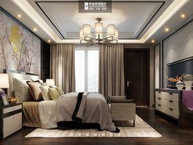 140平米别墅中式风格卧室效果图
