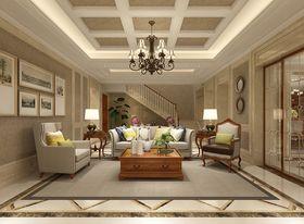 20万以上140平米别墅欧式风格楼梯家具设计图