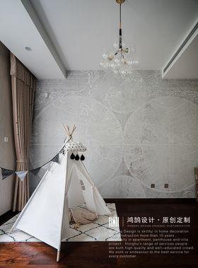 豪华型140平米复式现代简约风格儿童房图
