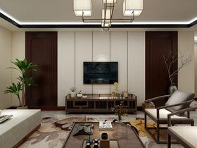 40平米小户型中式风格客厅装修效果图