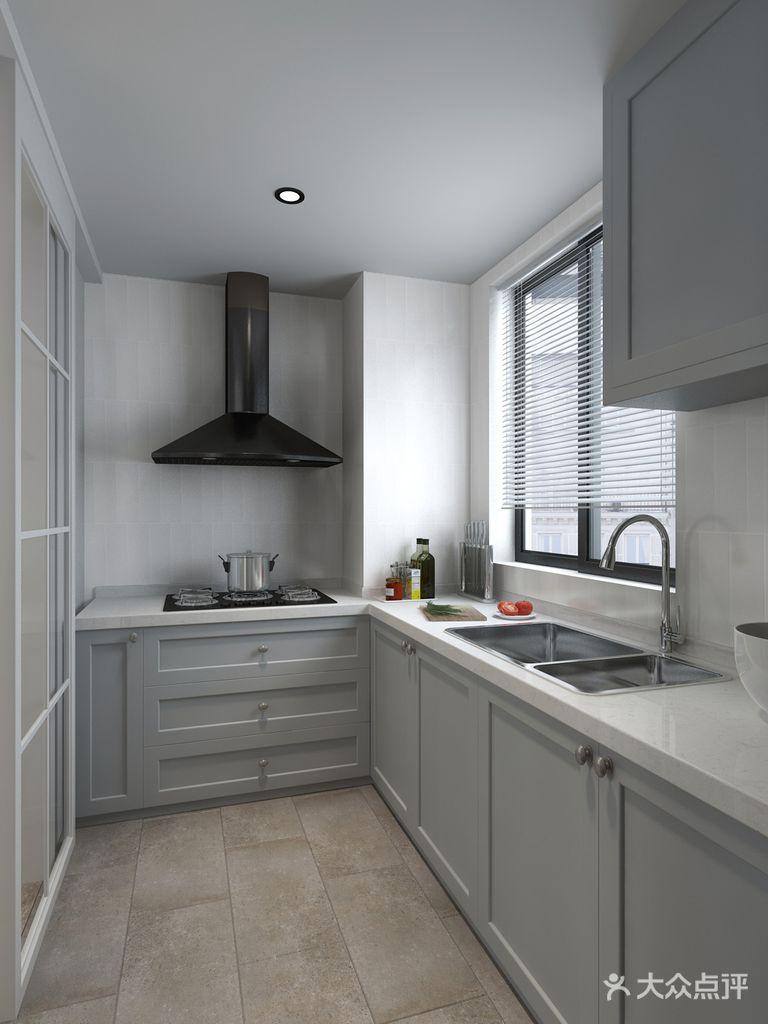 经济型50平米小户型北欧风格厨房装修效果图