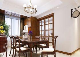 100平米三室兩廳現代簡約風格餐廳設計圖