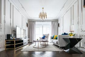 70平米法式风格客厅装修效果图