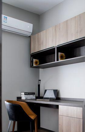 120平米三现代简约风格书房设计图