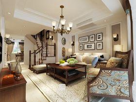 15-20万140平米复式美式风格客厅装修案例
