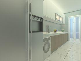 60平米一室一厅北欧风格厨房欣赏图