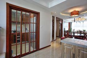富裕型140平米三室两厅中式风格走廊装修案例