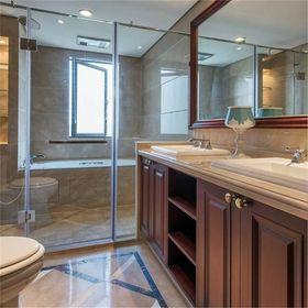 20万以上140平米三室两厅美式风格卫生间装修效果图