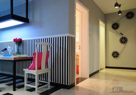 富裕型120平米三室一厅混搭风格餐厅装修图片大全