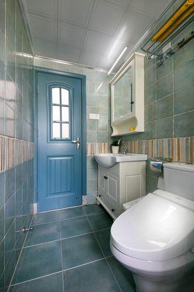 100平米三室一厅地中海风格卫生间欣赏图