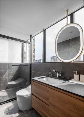 130平米四室两厅北欧风格卫生间欣赏图