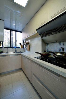 80平米现代简约风格厨房图片大全