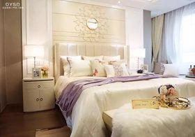 5-10万130平米三室两厅北欧风格卧室装修图片大全