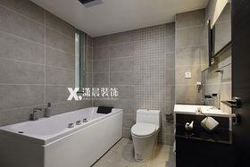 经济型140平米三室两厅现代简约风格卫生间图片