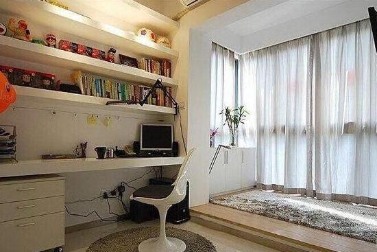 小户型卧室榻榻米床装修效果图