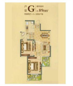 10-15万80平米现代简约风格其他区域设计图
