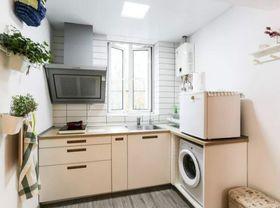 30平米超小户型北欧风格厨房图片