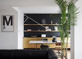 100平米三室两厅现代简约风格书房图片