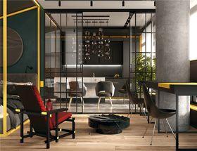 50平米一室一厅混搭风格卧室图片