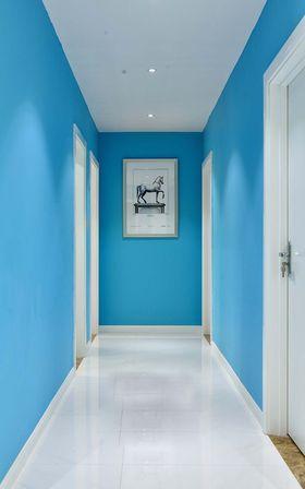 120平米三室三厅现代简约风格玄关图片大全
