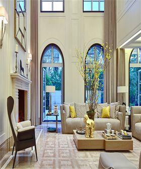 豪华型140平米别墅法式风格客厅设计图