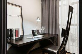 100平米三室一廳現代簡約風格書房圖