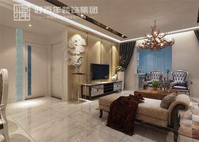 经济型130平米三室两厅混搭风格客厅图