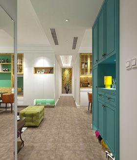 10-15万90平米三室两厅现代简约风格玄关装修图片大全