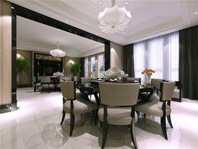 豪华型140平米四室两厅现代简约风格餐厅图片大全