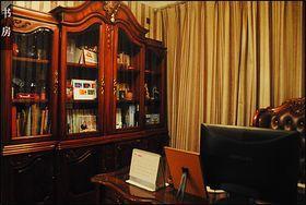 20万以上130平米三室两厅法式风格书房图片