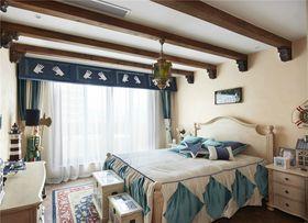 70平米法式风格卧室图