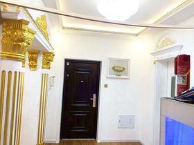 110平米三室两厅欧式风格玄关图片大全