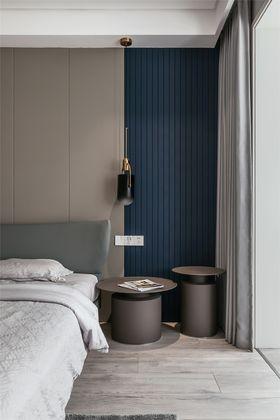 140平米三室一廳現代簡約風格臥室欣賞圖