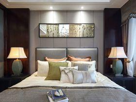120平米現代簡約風格臥室裝修圖片大全