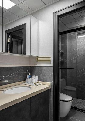 90平米三室两厅美式风格卫生间图