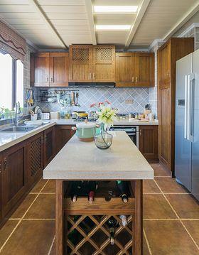 5-10万140平米四室两厅现代简约风格厨房图片