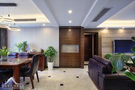富裕型140平米三室两厅现代简约风格玄关装修效果图