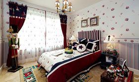 80平米复式地中海风格卧室装修效果图