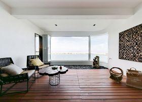 140平米三室一厅北欧风格客厅图片大全