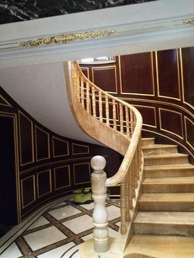 140平米別墅法式風格樓梯間欣賞圖