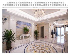 20万以上140平米四室三厅法式风格玄关图