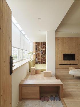 120平米三室一厅现代简约风格阳台图片