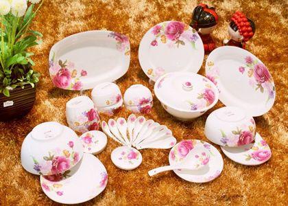 骨瓷餐具的十大品牌,中国骨瓷餐具排行榜-大众