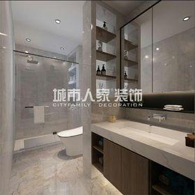 100平米三室兩廳現代簡約風格衛生間圖片大全