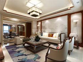 30平米小户型中式风格客厅装修案例