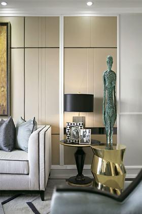 70平米現代簡約風格客廳欣賞圖
