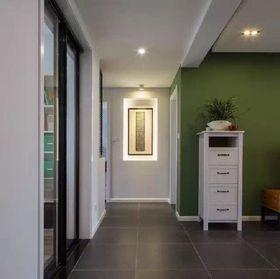 5-10万110平米三室两厅现代简约风格玄关装修案例