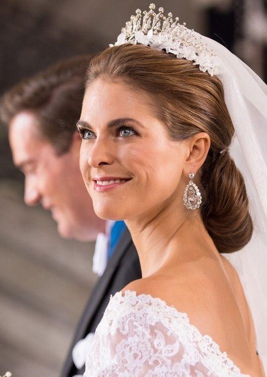 """被称为""""欧洲最漂亮的公主""""--瑞典小公主玛德琳娜在图片"""