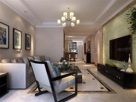 15-20万130平米三室两厅现代简约风格客厅设计图