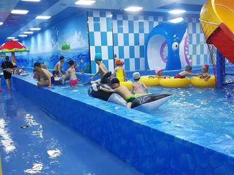 室内四季恒温水上乐园亲子游泳馆